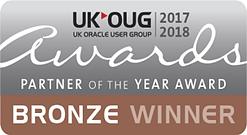 UKOUG Bronze Winner 2017-2018