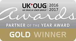 UKOUG Gold Winner 2016-2017