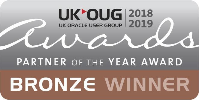 UKOUG Bronze Partner Of The Year Winner 2018-2019