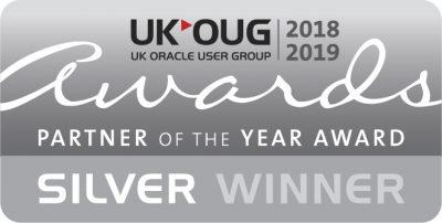 UKOUG Silver Partner Of The Year Winner 2018-2019