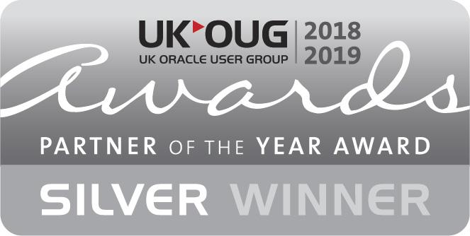 UKOUG Silver Partner Of The Year Winner 2018-2019