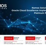 Namos Solutions Achieves Oracle Cloud Excellence Implementer & Oracle Platinum Partner Status