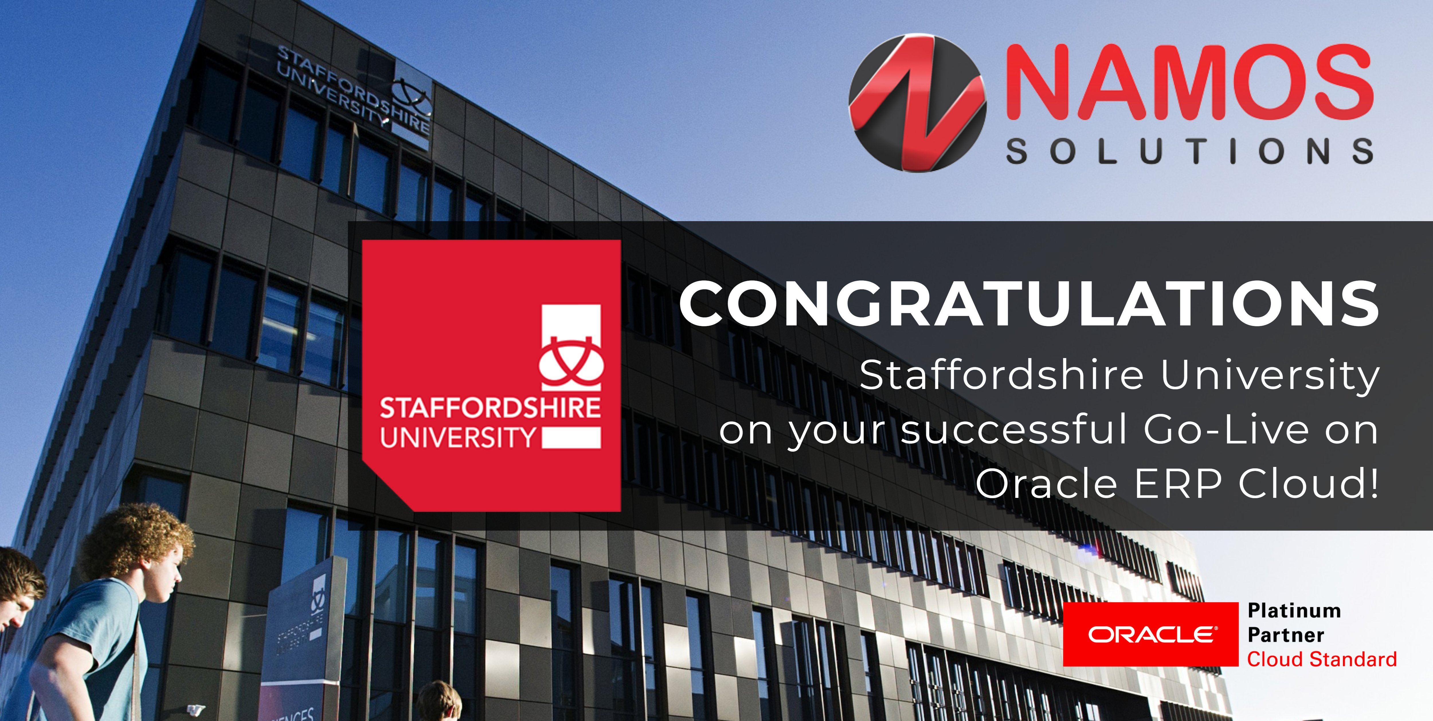 Staffordshire University Goes Live on Oracle ERP Cloud