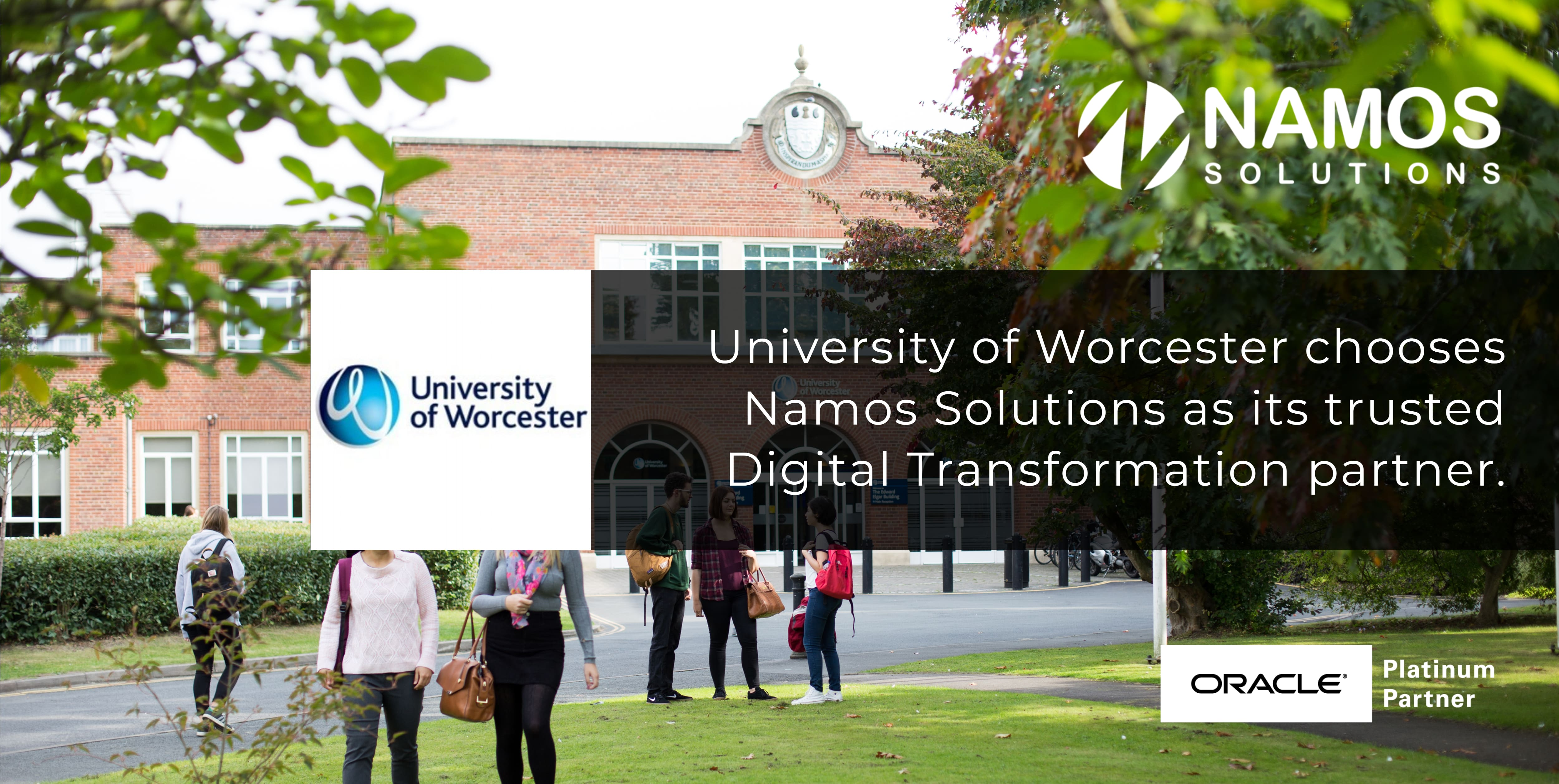 The University of Worcester moves to Oracle ERP Cloud