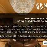 UCISA CISG-PCMG19 Conference 🗓 🗺