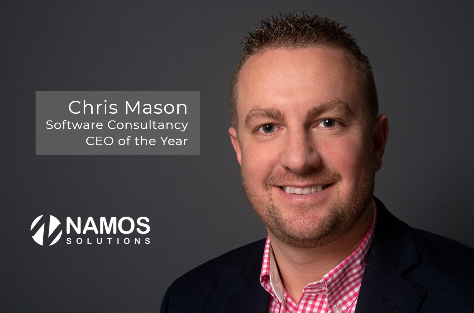 CEO Monthly Names Chris Mason, Software Consultancy CEO of the Year