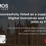 Namos Solutions Achieves Digital Outcomes and Specialists 4 (DOS4) Framework Success