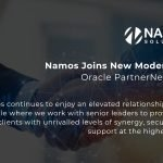 Namos Recognised for Oracle ERP Cloud Expertise