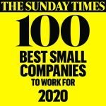 Namos Solutions named one of the Best Small Companies to Work for in the UK