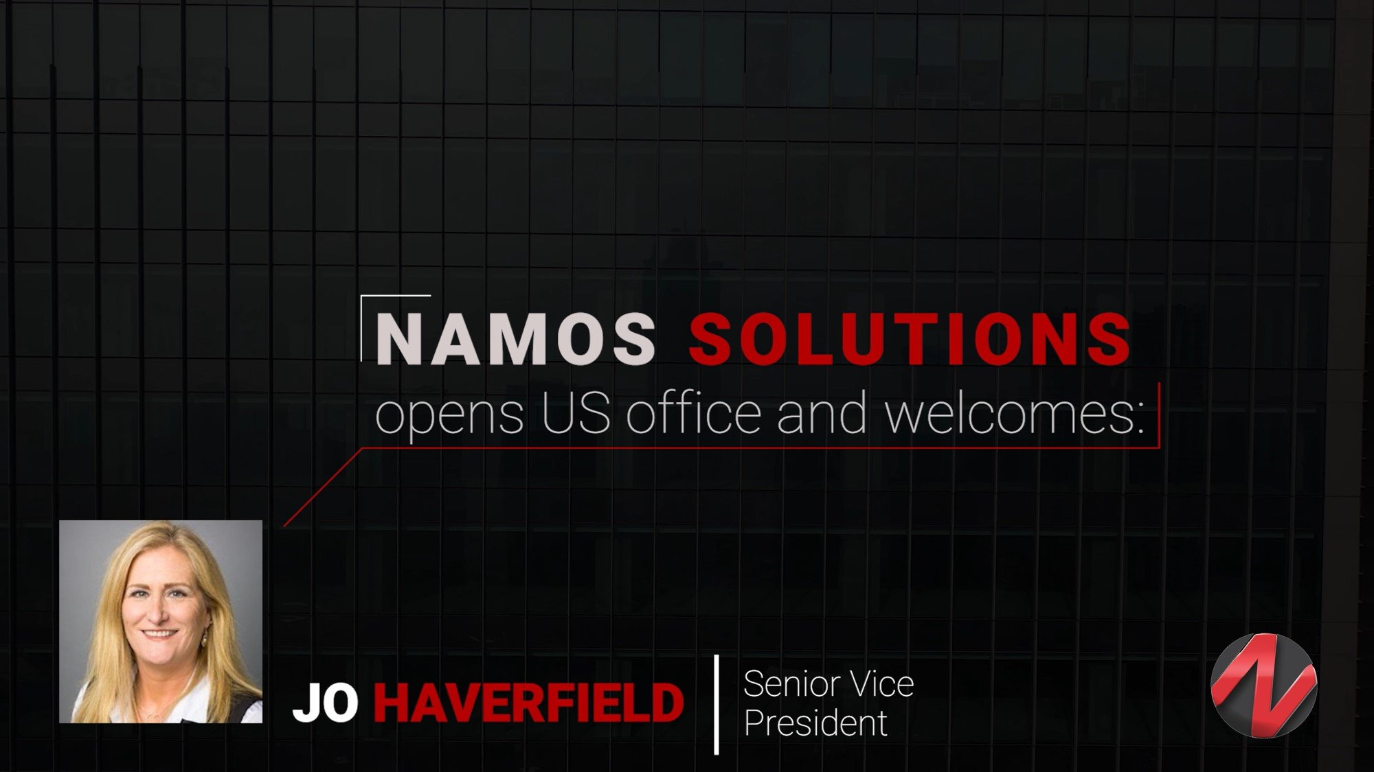 Namos Solutions open US office and welcomes Jo Haverfield as Senior Vice President