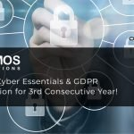 Namos Solutions Earns Cyber Essentials & GDPR Accreditation for 3rd Consecutive Year