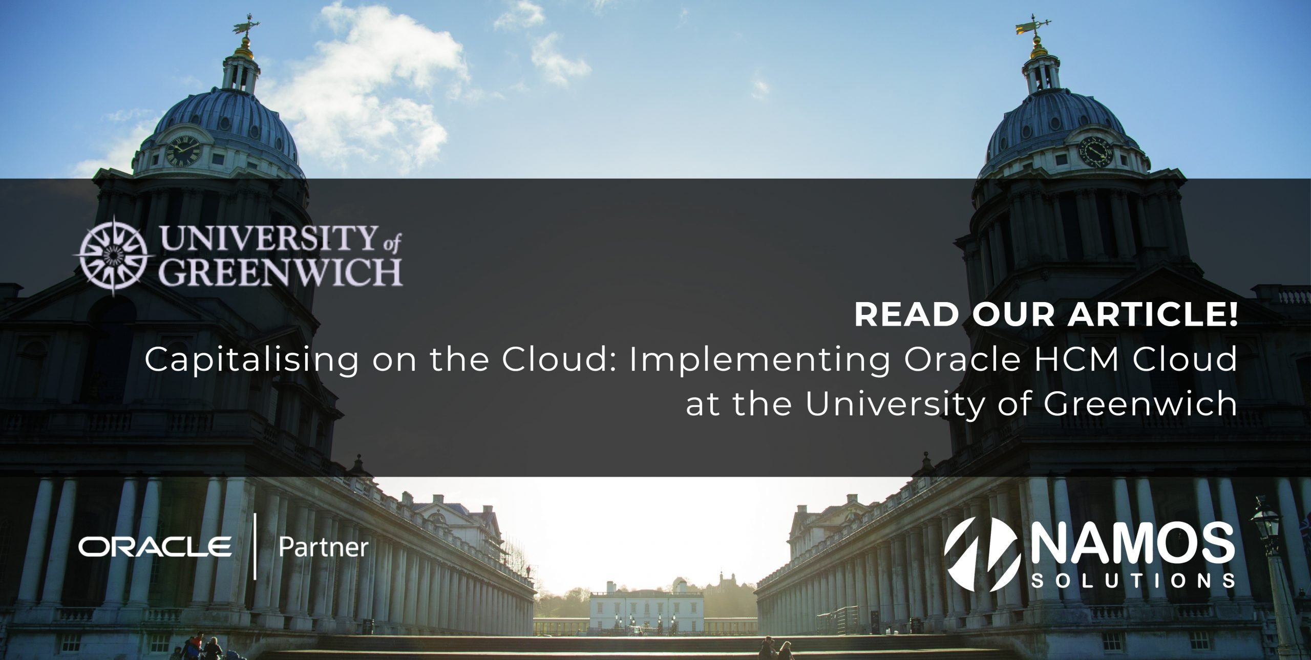 ARTICLE:  Capitalising on the Cloud: Implementing Oracle Human Capital Management with the University of Greenwich