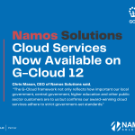 Namos Solutions Cloud Services Now Available on G-Cloud 12