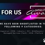 Namos Shortlisted for 9 UK Oracle User Group Awards