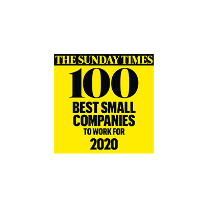Sunday Times 100 Best Small Companies 2020