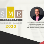 Namos CEO Shortlisted for Lockdown Leader in SME National Awards 2020