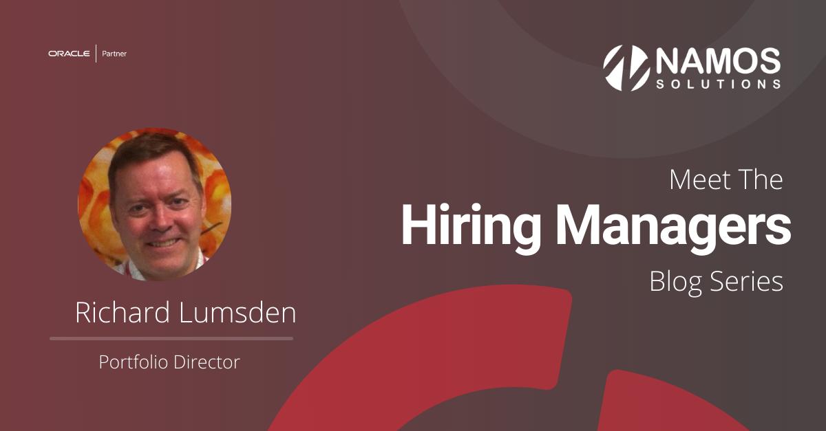 Meet The Hiring Manager: Richard Lumsden