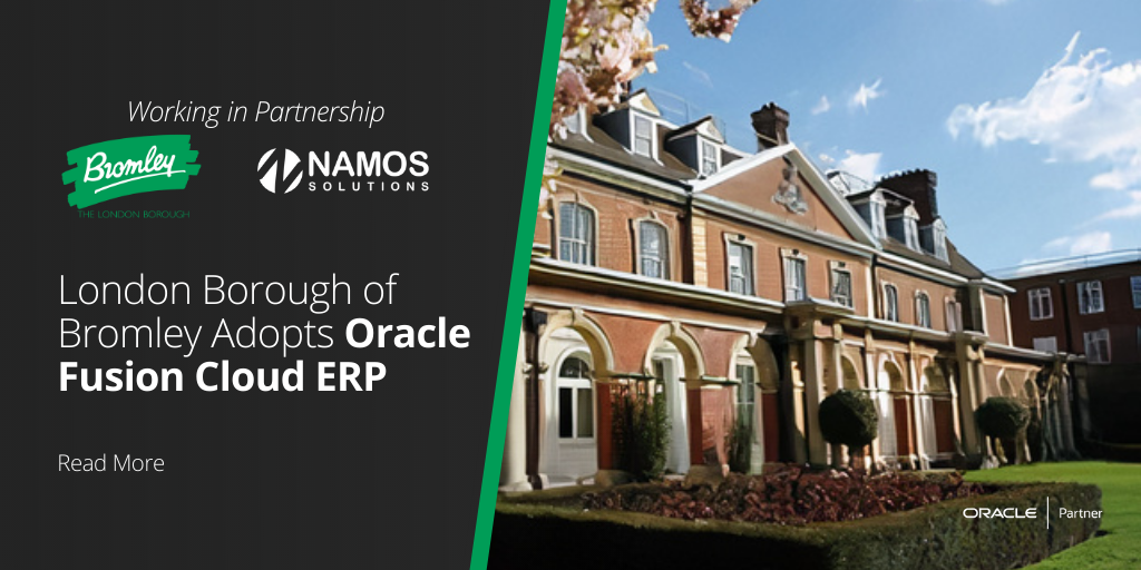 London Borough of Bromley Adopts Oracle Fusion Cloud ERP