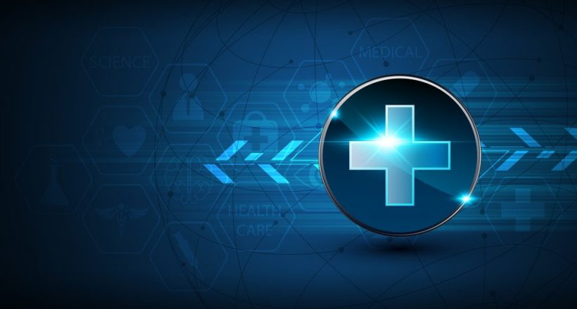 abstract, medical, sign, logo, circle, symbol, hospital, clinical, health care, button, interactive, icon, tech, hi tech, sci fi, technology, innovation, digital, future, futuristic, scientific, arrow, movement, loading, networking, connection, theme, graphic, development, vibrant, blue, gradient, power, energy, pattern, computer, connection, data, cyber, design, concept, background, vector, illustration, website, dynamic, dimension,