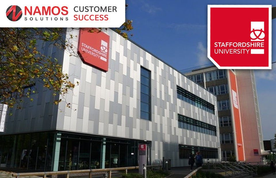 Namos Solutions - Customer success - Staffordshire University Case Study